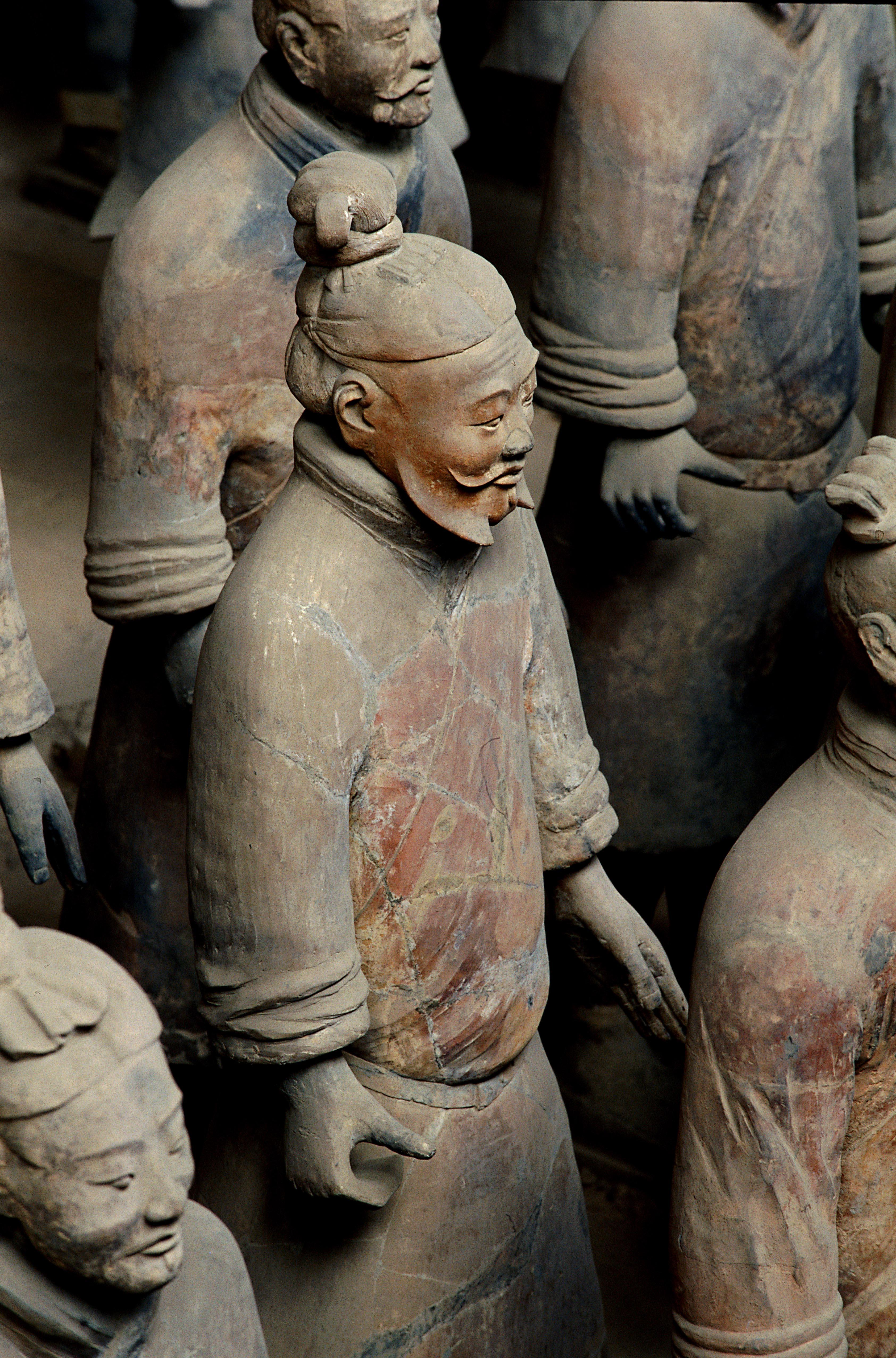 Soldats en terre Shaanxi